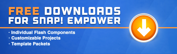 Free Flash Template Downloads for Snap! Empower   Trivantis
