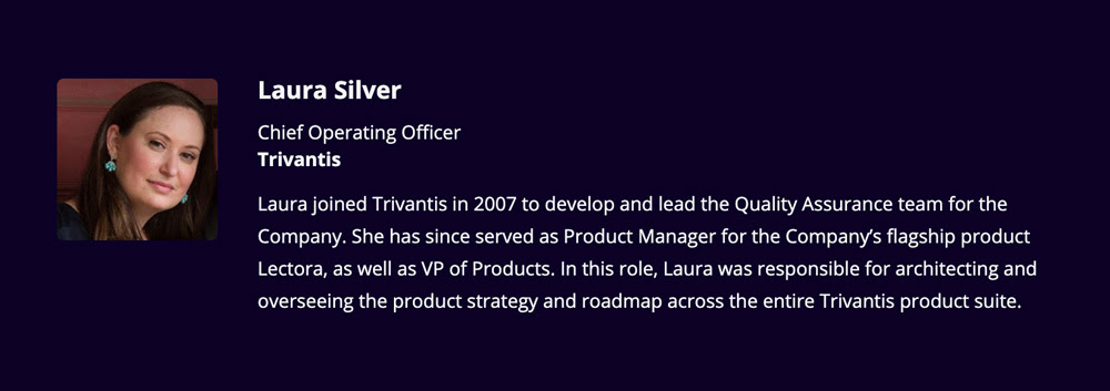 Laura Silver, COO