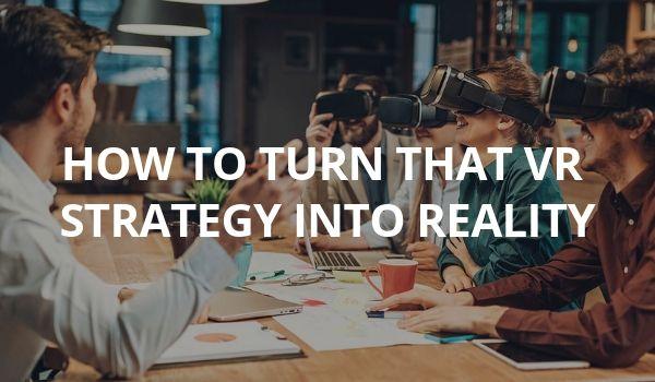 Jumpstart Your VR eLearning Plan