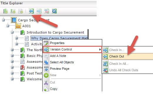 1 version control in lectora online cloud authoring tool trivantis