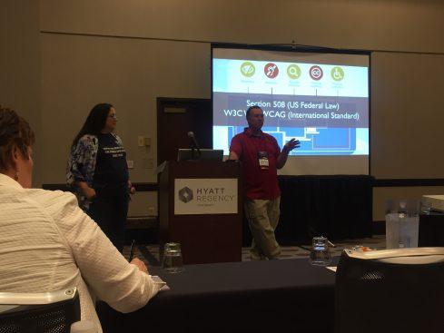 Karen Ngowe, CDC, and Dan Richards, Interactive Advantage