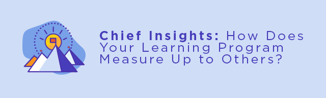 Chief Insights: How Does Your Learning Program Measure Up to Others