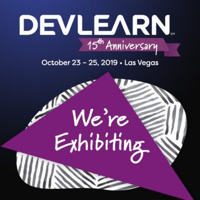 DevLearn Exhibitor - Graphic