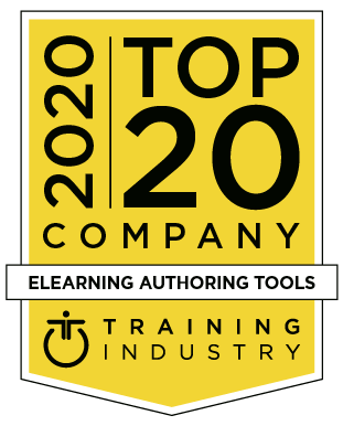 2020 Training Industry Top 20 eLearning Authoring Tools Company