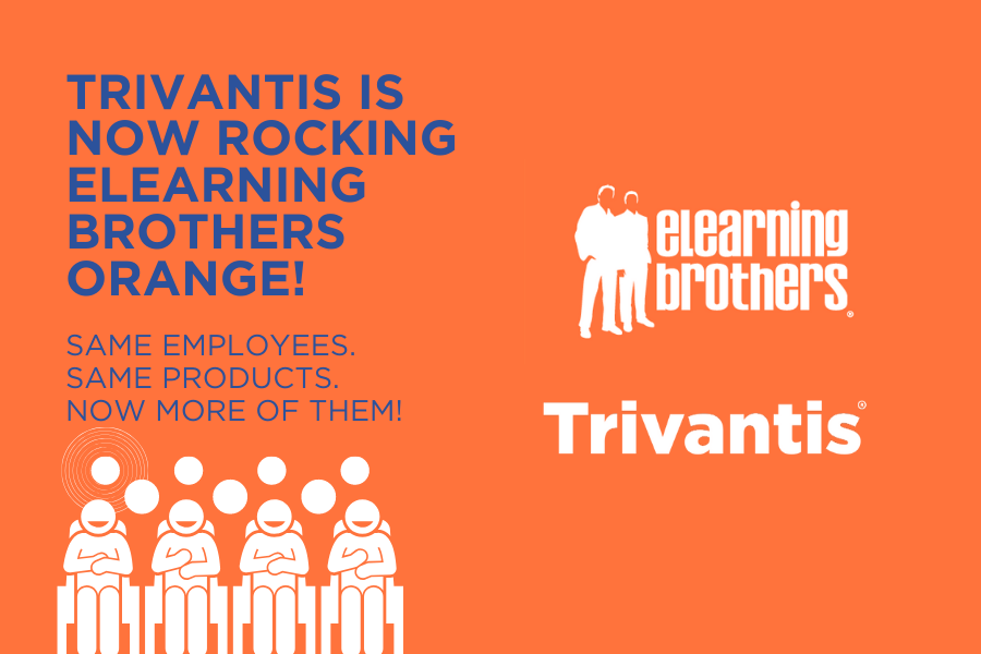 Trivantis Is Rocking eLearning Brothers Orange!