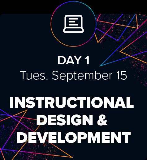 eLBX Online 2020 — Day 1 — Instructional Design & Development